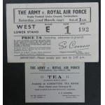 Ticket Army v RAF, Twickenham 1947