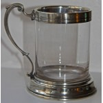Glass & Silver Tankard Royal Chester Rowing Club 1865