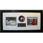 Tiger Woods Personally Signed & Framed Golf Ball