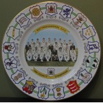 Nottinghamshire County Champions 1981 Coalport Fine China Plate