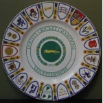 Leicestershire County Champions 1975 Coalport Fine China Plate