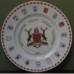 Nottinghamshire County Champions 1987 Royal Grafton Fine China Plate
