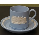 St Andrew's Wedgewood Jasper Ware Cup & Saucer