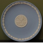 Wedgewood Ryder 2001 Cup Commerative Plate