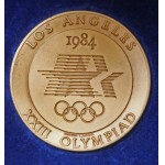 1984 Los Angeles Olympic Games Participants Medal