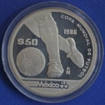 Sterling Silver Mexico 86 $50 Coin