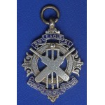 Scarce Silver & Enamel 2nd XI League Medal 1895