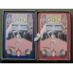 Scarce 1948 Olympic Games Twin Pack Playing Cards. ***SOLD***
