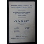 Rare Bedford v Old Blues 7th Dec 1946