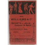 Rare Williams & Co French Sports Catalogue 1914