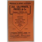 Scarce Lillywhites Sports Catalogue 1933