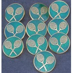 Collection of London Badge & Button Co Tennis Blazer Buttons