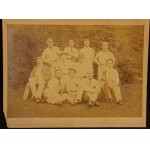 Rare Early Cricket Photograph c1890 ***SOLD***