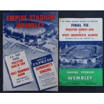 FA Cup Final Programme 1954 & Songsheet