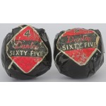 Wrapped Dunlop Sixty Five Recessed Golf Balls ***SOLD***