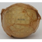 Rare Wrapped Lion Mesh Patterned Ball India Tyre c1930
