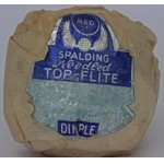 Wrapped Spalding Top Flite Needled c1935
