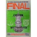 1968 FA Cup Final Everton v West Brom