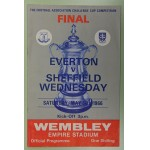1966 FA Cup Final Everton v Sheffield Wednesday