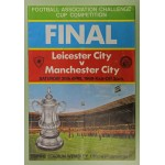 1969 FA Cup Final Leicester v Man City Programme & Songsheet