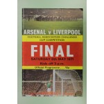 1971 FA Cup Final Arsenal v Liverpool