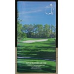 Scarce 2007 Masters Spectator Guide