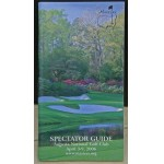 Scarce 2006 Masters Spectator Guide