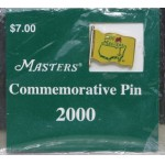 Scarce 2000 Masters Commemorative Pin Unused