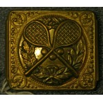 Fine Victorian Brass Tennis Buckle c1895 ***SOLD***