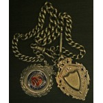 Avenue FC Champions Medal 1929 Plus Silver Chain & Fob