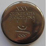 Barcelona 1992 Olympic Games Participant Medal
