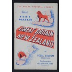 Great Britain v New Zealand First Test Match 1951