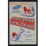Great Britain v New Zealand Third Test Match 1947