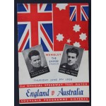 Rare Engand v Australia 1938 2nd Test Match Wembley