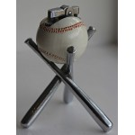 Scarce Japanese 1920's Novelty Baseball Table Lighter