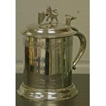 Superb Trophy Tankard Sheffield Plate c1890