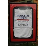 Masters Champion!! Sergio Garcia's First Professional Tournament Signed Caddy Bib