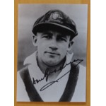 Don Bradman Signed Photo