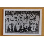 Don Bradman Signed Australian Test Team Photograph