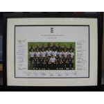 England v South Africa 2008 Official Photograph Personally Signed By England Team