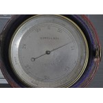 Superb Brass Pocket Aneroid Barometer & Altimeter EXETER COLLEGE 2ND SENIOR PAIRS 1887