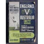 England v Australia Complete Test Records 1877 to 1948