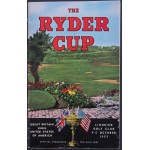 1957 Ryder Cup Programme