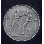 Forces Silver Boxing Winners Medal 1929 Sapper Cload