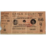 RARE Earls Court World Heavyweight Championship Ticket 6 August 1966 Muhammad Ali v Brian London