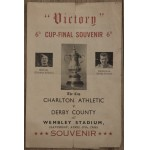 "Scarce Charlton Athletic v Derby County 1946 F.A. Cup Final ""VICTORY"" Issue"